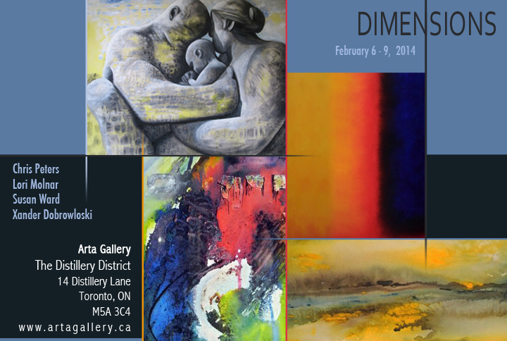 Dimensions - Arta Gallery Feb 6-9