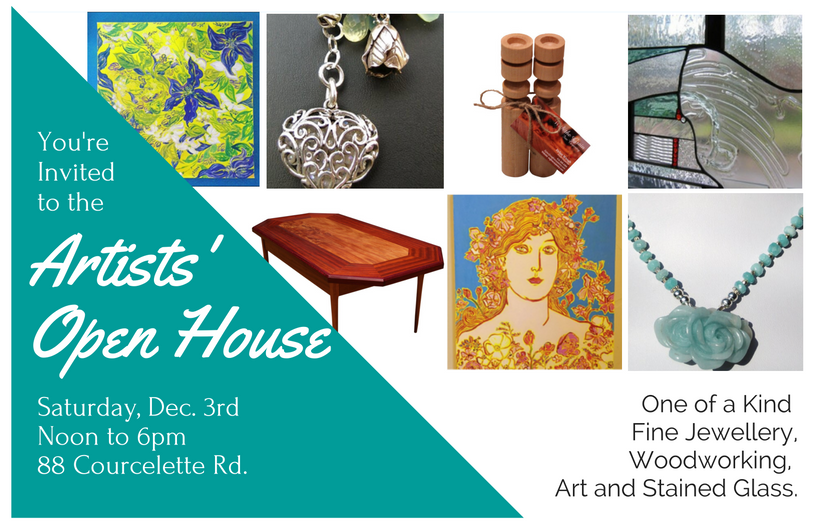 Toronto Beach Artists Open House invitation