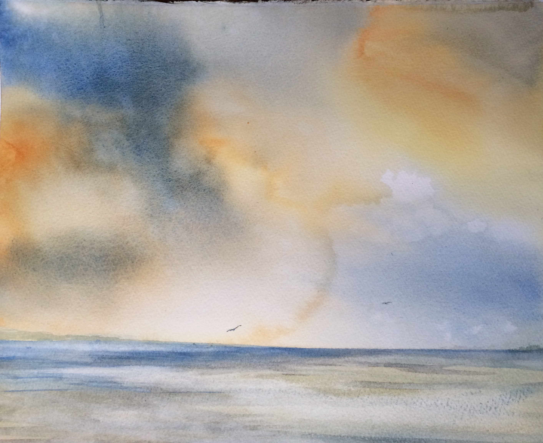 Cobalt Sienna Sunset