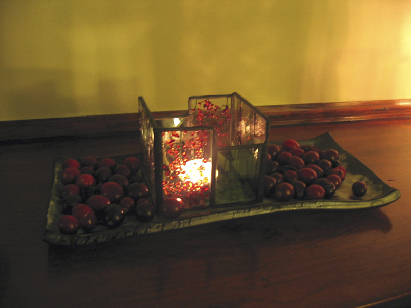 Cranberry Candlelight